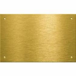 Brass Sheet, 0.016 mm