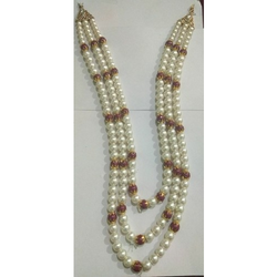 Groom White Pearl Mala