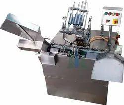 Four Head Ampoule Filling Sealing Machine