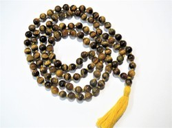 108-Beads Jap Mala Prayer Meditation Stone Beads Necklace
