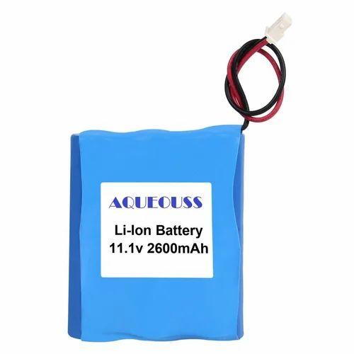 2600mAh 11.1V Li Ion Battery