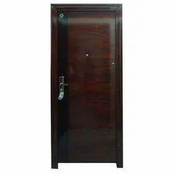 Hinged Security Steel Door For Home, Size: 2100 X 960 X 70 Mm (h X W X D)