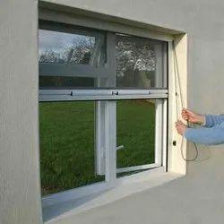 Fiberglass Aluminium Pull Down Mesh Window