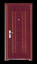 Standard Brown Inner Steel Security Door, For Home