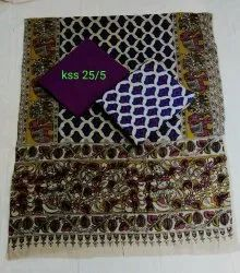 Kalamkari Cotton Suits Set Material