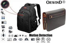 Spy Camera Hidden Inside Bag Purse