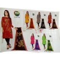Ladies Rio Churidar Unstitched Suits