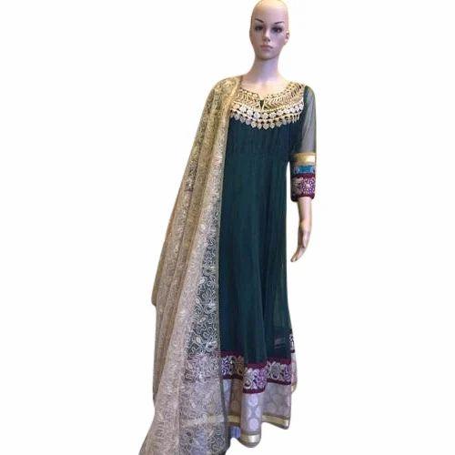 51c6c055b3 Blue Party Wear, Wedding Ladies Designer Suit, Rs 3000 /piece | ID ...