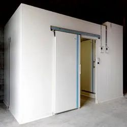 Automatic Insulated Sliding Cold Storage Door