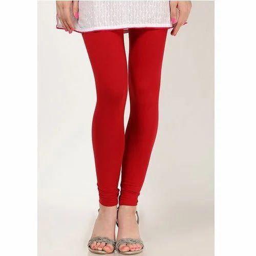 dc1dcecc471c4 Red Churidar Ladies Lycra Legging, Size: Medium, Rs 98 /piece | ID ...
