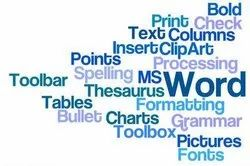 MS Word Processing Service