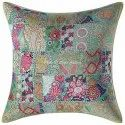 Patchwork Embroidered 24x24 Inches Cushion Covers