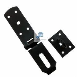 Black Iron Heavy Hasp & Staple