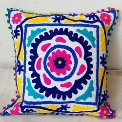 Cotton Suzain Embroidered  Pillow Covers