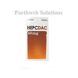 Hepcdac 60mg Tablets