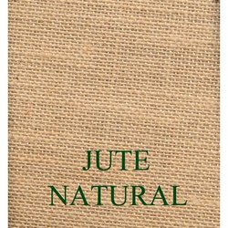 Plain Brown Natural Jute Fabric, For Making Bags And Coarse Cloth