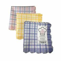 Multicolor Cotton Ladies Fancy Handkerchief