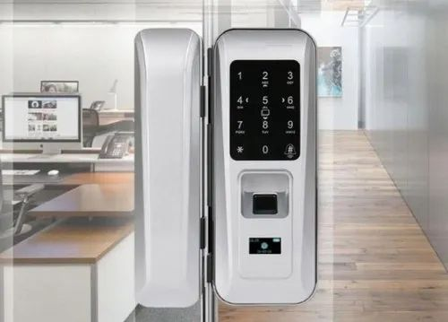 Fingerprint Digital Glass Door Lock