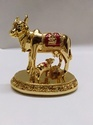 Golden Cow Statue