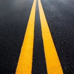 Primeline Yellow Traffic Road Marking Reflective Paint, Roller