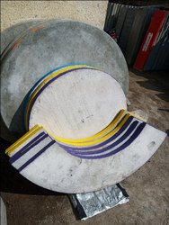 Cement Round Table