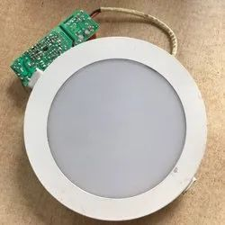Cool White 7 W Round LED Light, IP Rating: IP40, for Residential And Commercial
