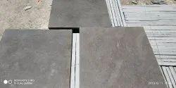 Kurnool grey limestone leather finish, Thickness: 20-25 & 30-35mm, Size: 2x2