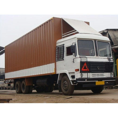 Food Products Transporation Offline Closed Body Container Road Transport Services, Destination: Delhi