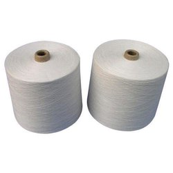 Dull White Combed Ring Spun Yarn, For Knitting, Weaving, Count: 20