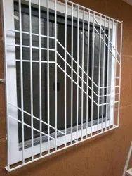 Smartfit White MILD STEEL WINDOWS, For Home