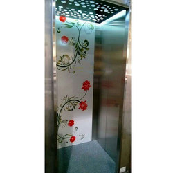 Stainless Steel Passenger Lift Cabin Design