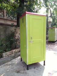 FRP Bio Toilet Green