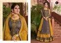 Ladies Partywear Unstitched Salwar Kameez