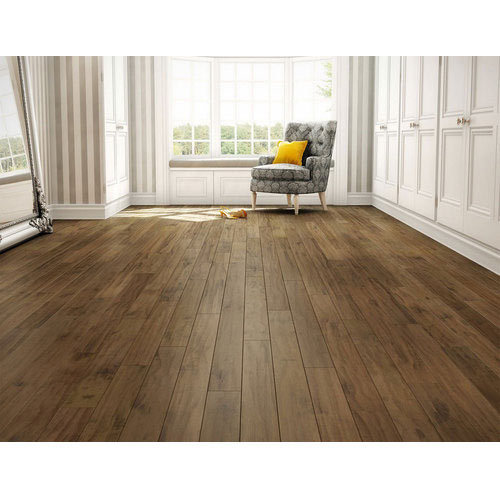 Brown Laminated Wooden Flooring, Usage: Indoor, Outdoor