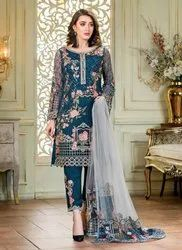 Pakistani Style Party Wear Salwar Suits
