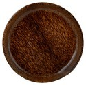 Palm Wood Plate