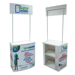 Promotional Desk For Advertising, Size: 31x15x75in