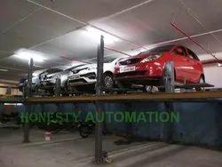 Hydraulic car lift system