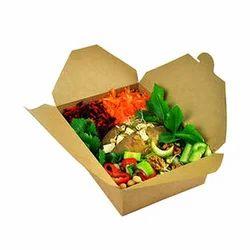Brown Corrugated Paper Food Packaging Box