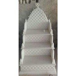 Indoor White Marble Masjid Mimber for Mosque