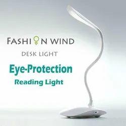 Cool White Fashion Wind Desk Lamp, Wattage: 5 W