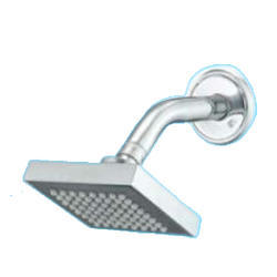 Steel Square 4X4 Jaquar Shower With Aram, For Home