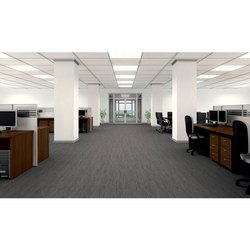 Polyester Office Carpet Tiles, Packaging Type: Roll, Thickness: .05-10 mm
