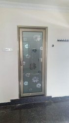 Standard Aluminum Doors with Glass, Packaging Type: Box Packing
