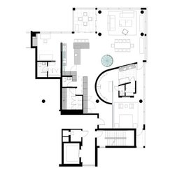 Pent House Designing
