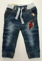 Casual Wear Girls Boys Denim Jeans, Age: 0-16 Years