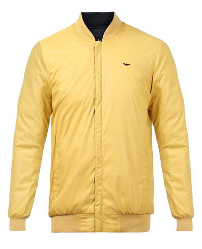 1045724f0 Park Avenue Yellow Regular Fit Jacket