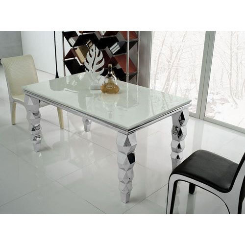 Stainless Steel Dining Table Ft Xft At Rs Piece Stainless - 6ft stainless steel table
