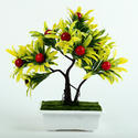 Ceramic Potted Artificial Fruit Plant