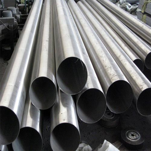 Genuine Silver Stainless Steel seamless pipe